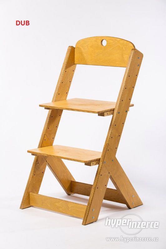 Rostoucí židle OMEGA III - různá barevná kombinace - foto 17
