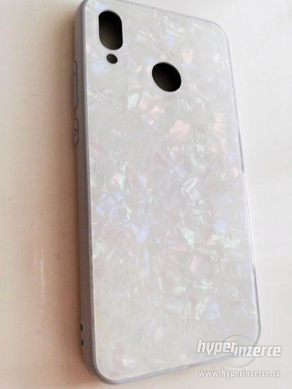 Kryt Huawei P20 lite bílý lesk