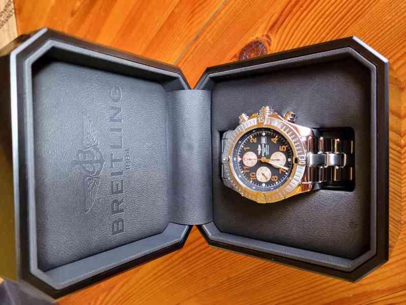 Prodám  Breitling Super Avenger  - foto 1
