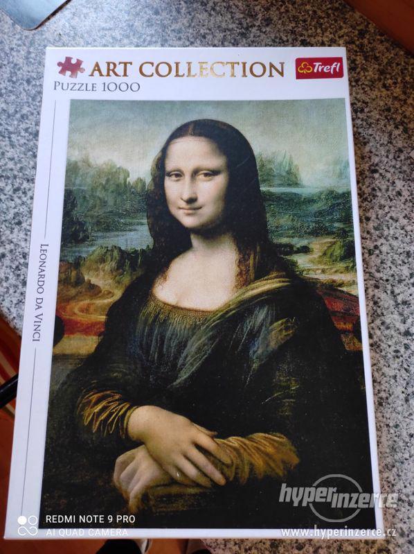 Vyměním - puzzle Mona Lisa - foto 1