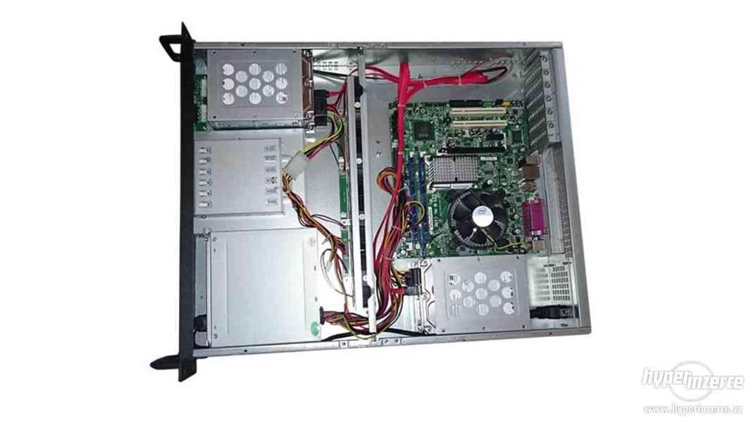 2U Server DG43GT + CPU 2.93GHz + DDR2 4gb + 1.5TBx4 - foto 2