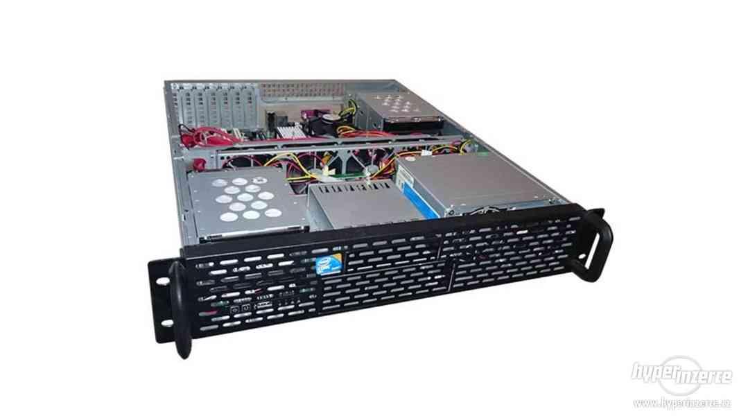 2U Server DG43GT + CPU 2.93GHz + DDR2 4gb + 1.5TBx4 - foto 3
