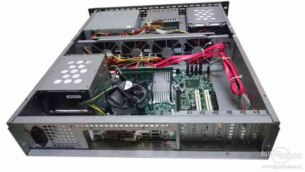2U Server DG43GT + CPU 2.93GHz + DDR2 4gb + 1.5TBx4 - foto 5