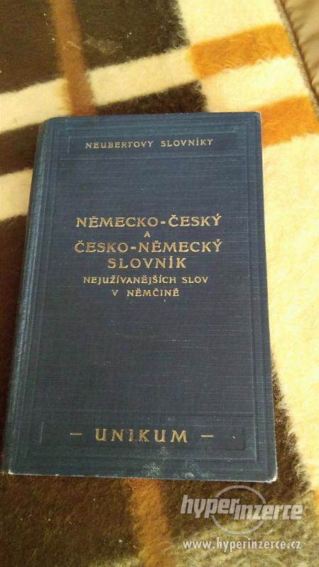 Německo-český a česko německý slovník - foto 1