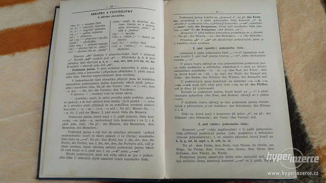 Německo-český a česko německý slovník - foto 3