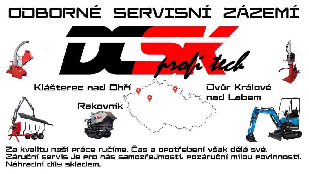 Štípačka DCSK profi tech 18t PTO - foto 7
