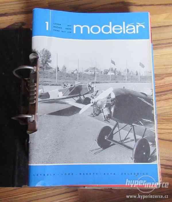 Časopis Modelář 1969 - 1977