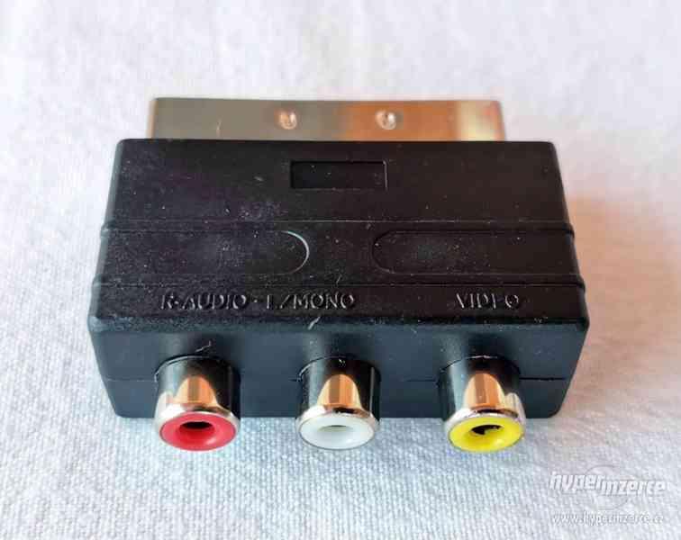 SCART 3x CINCH pro PS1, PS2 a PS3 - foto 1