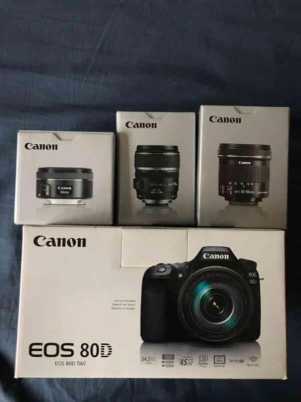 Canon EOS 80D BUNDLE with EF-S 18-135mm f/3.5-5.6 IS USM Len