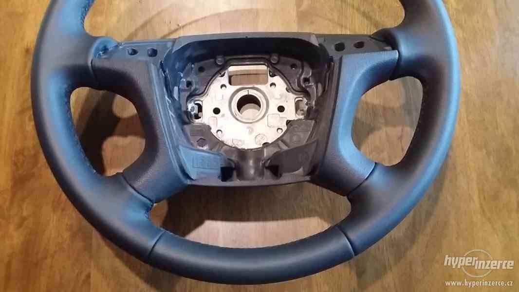 Prodám nový kožený MULTIFUNKČNÍ volant na Škoda Octavia 2. - foto 3