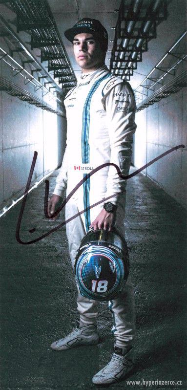 Autogram Lance Strolla