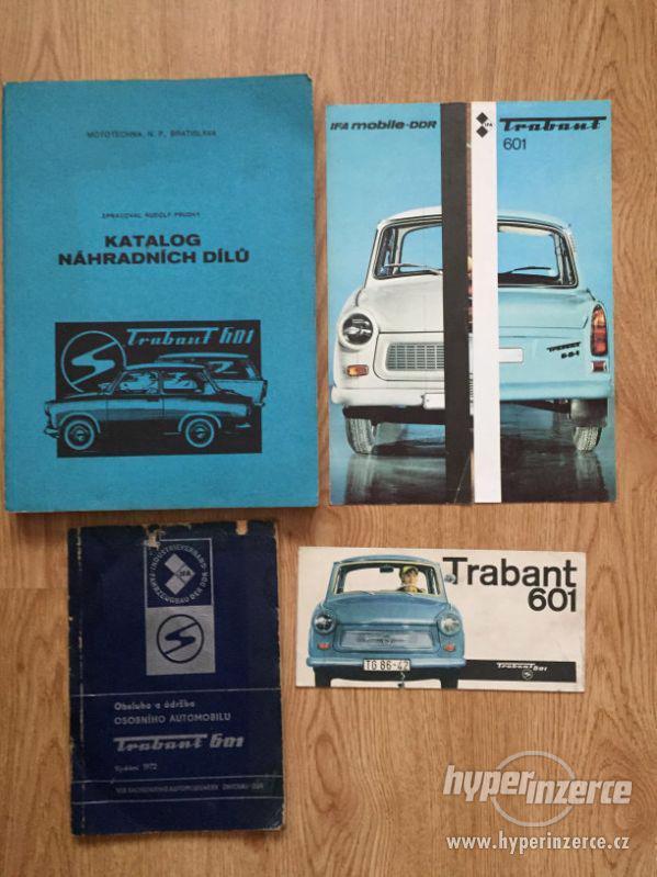 Trabant 601 – katalog ND, příručka, prospekty, ceny v textu - foto 1