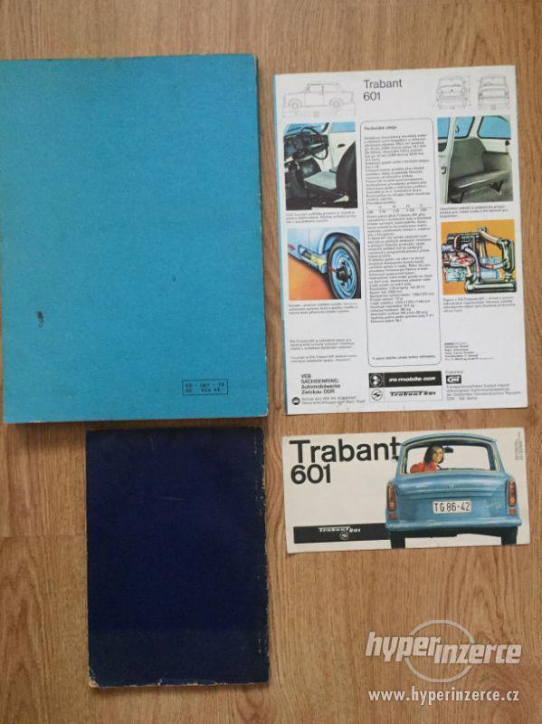 Trabant 601 – katalog ND, příručka, prospekty, ceny v textu - foto 2
