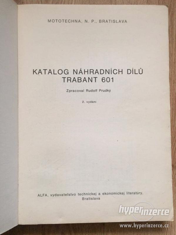 Trabant 601 – katalog ND, příručka, prospekty, ceny v textu - foto 3