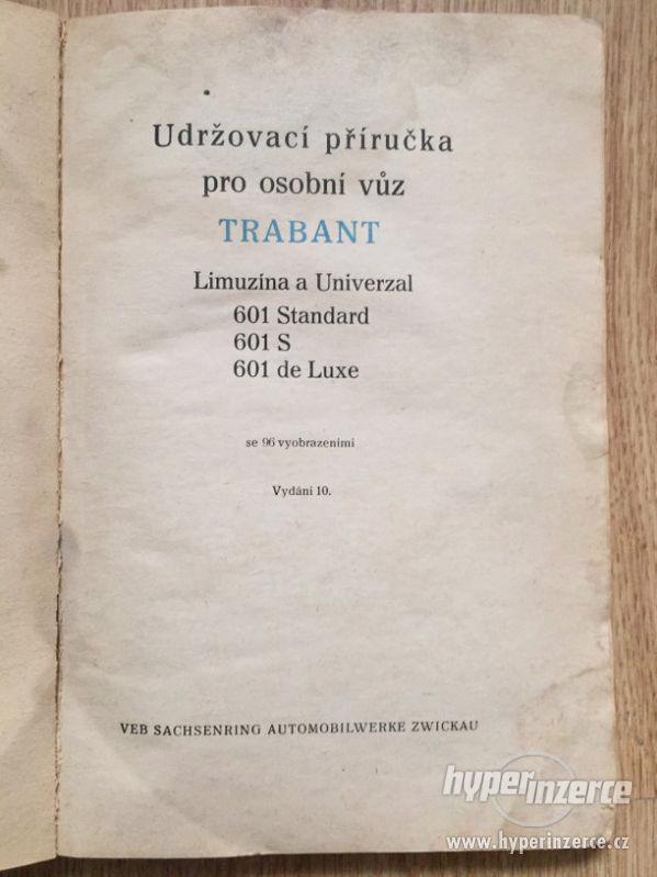 Trabant 601 – katalog ND, příručka, prospekty, ceny v textu - foto 6
