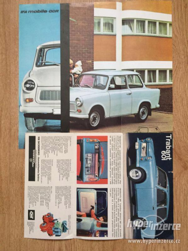 Trabant 601 – katalog ND, příručka, prospekty, ceny v textu - foto 8