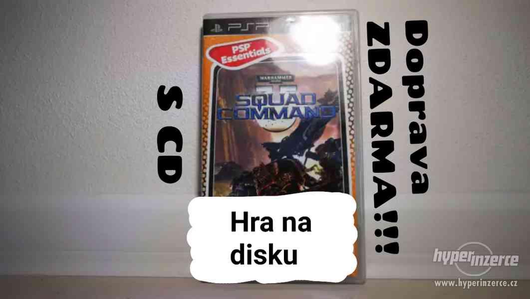 ● HRY ZA STOVKU!! ●WARHAMMER 40,000 SQUAD COMMAND ● PSP HRA - foto 1