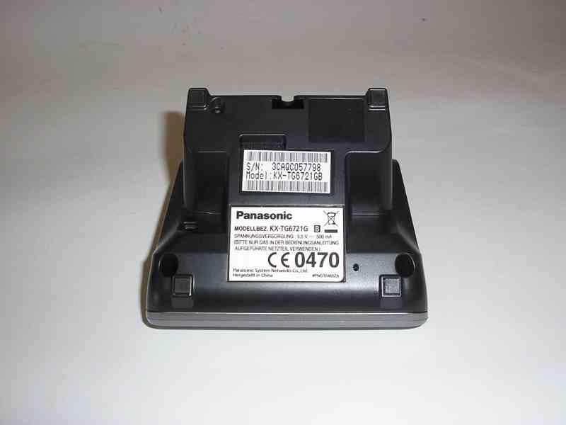 Bezdrátový telefon Panasonic KX-TG6721GB - foto 5