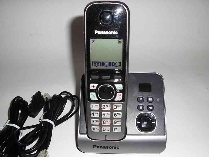 Bezdrátový telefon Panasonic KX-TG6721GB - foto 2