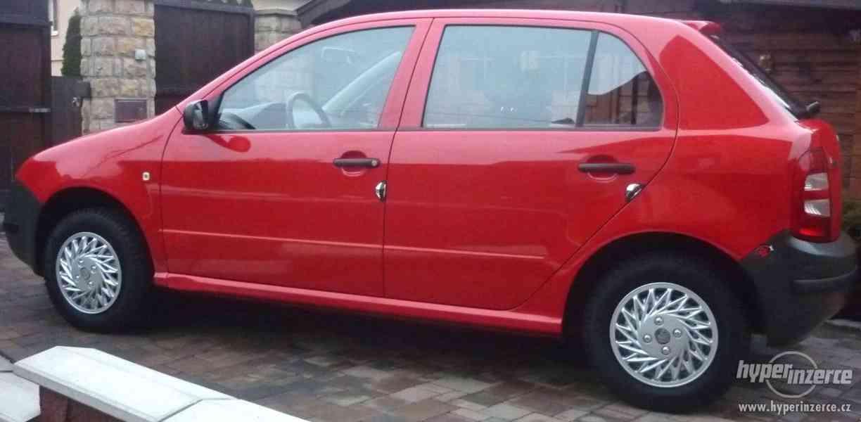 Škoda Fabia 42 000 km benzín 4 válec