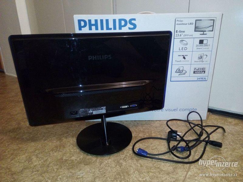 """24"""" Philips 247E3L, 5ms, 1920x1080 - foto 3"""