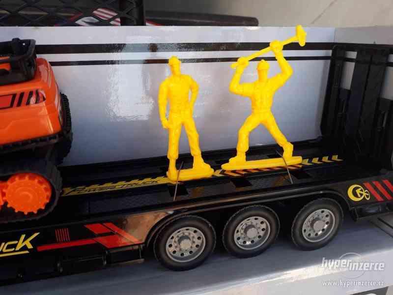 399KČ  R/C model Kamion Truck Max + BAGR  DELKA 63CM - foto 3