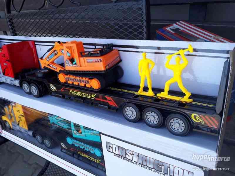 399KČ  R/C model Kamion Truck Max + BAGR  DELKA 63CM - foto 10