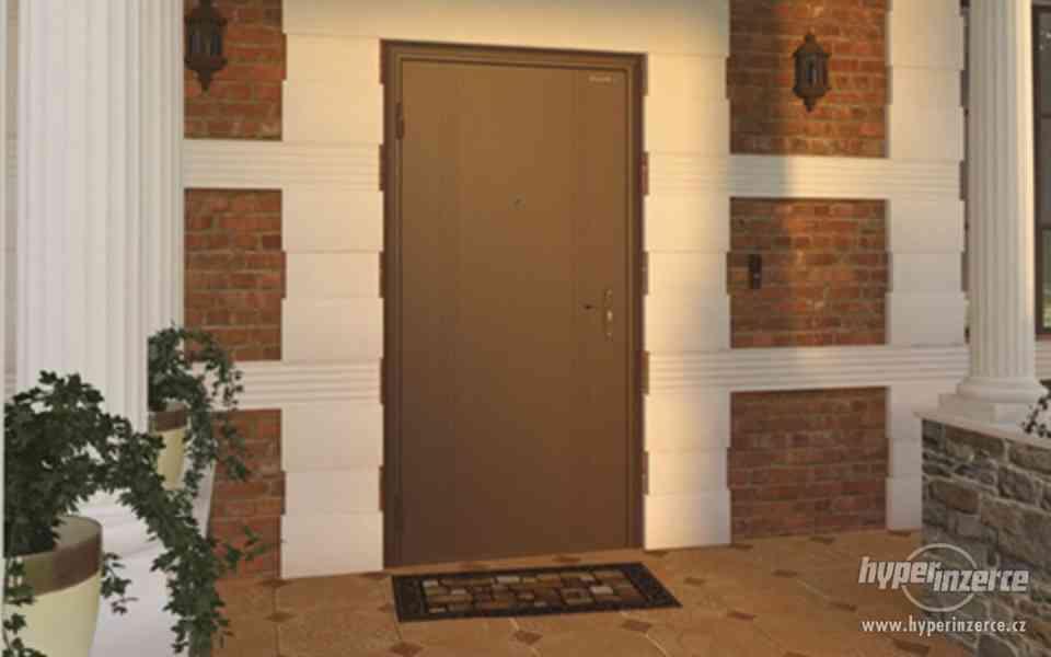 Vchodové dveře z pozinkované oceli - foto 2
