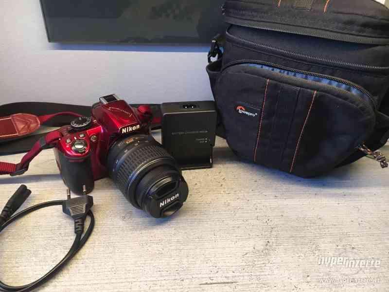Nikon D3100 Special RED edice - foto 2