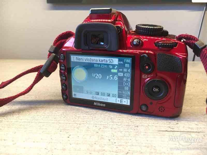Nikon D3100 Special RED edice - foto 5