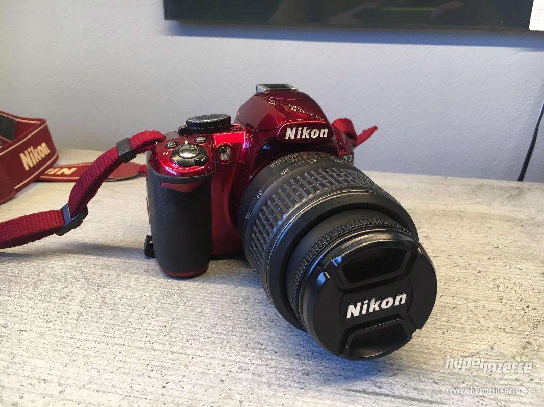 Nikon D3100 Special RED edice - foto 1