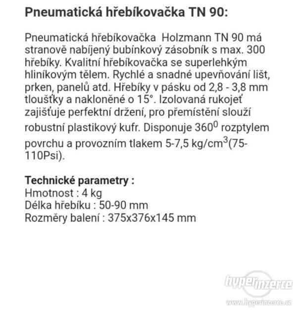 Pneumatická Hřebíkovačka - foto 5