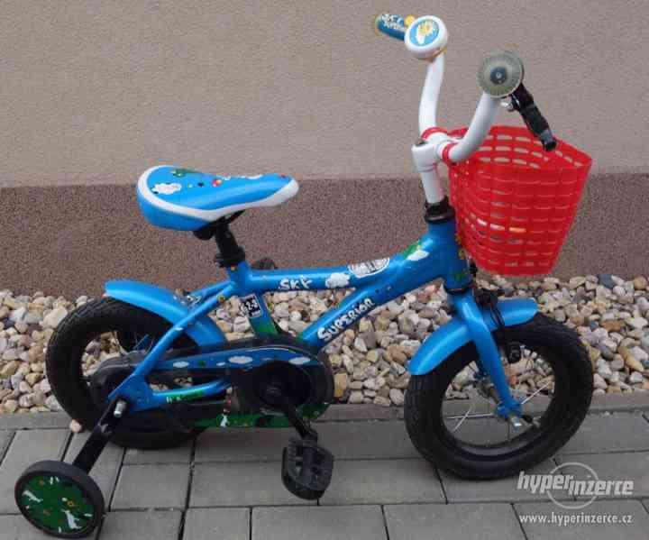 """Dětské jízdní kolo velikost 12"""", Superior Sky"""