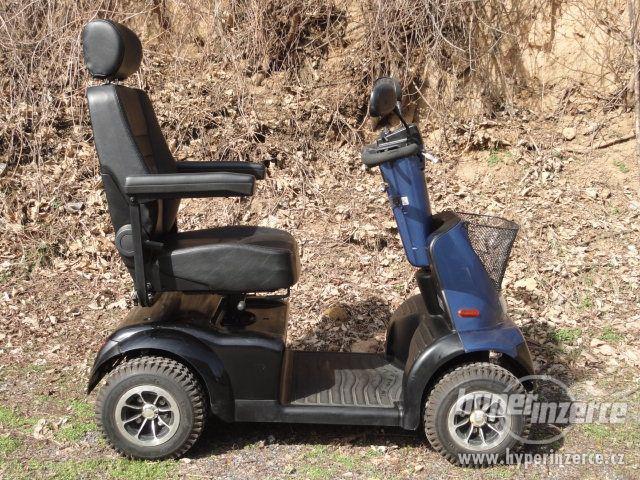 Elektrický invalidní vozík skútr zn. Afikim Breeze C4 SLEVA!