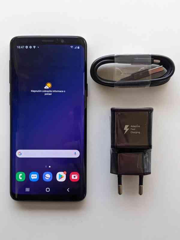 Samsung Galaxy S9 G960F 64GB Dual SIM Midnight Black - foto 1