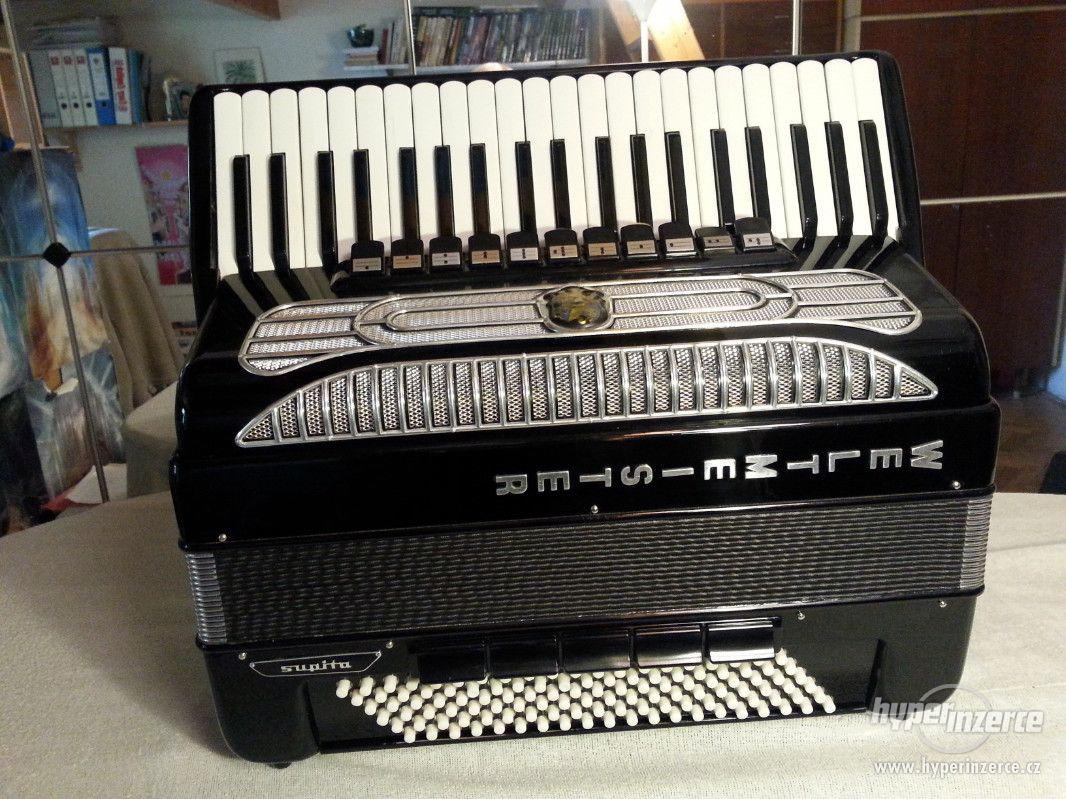 Prodám akordeon zn. WELTMEISTER supito 120b 11+5b - foto 1