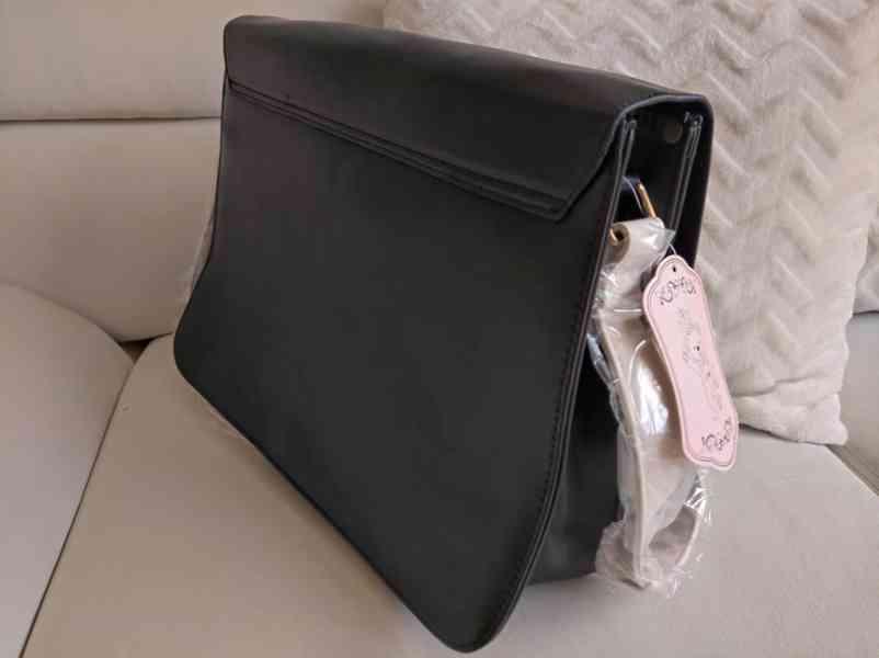 Retro dámská kabelka ve stylu aktovky - foto 2