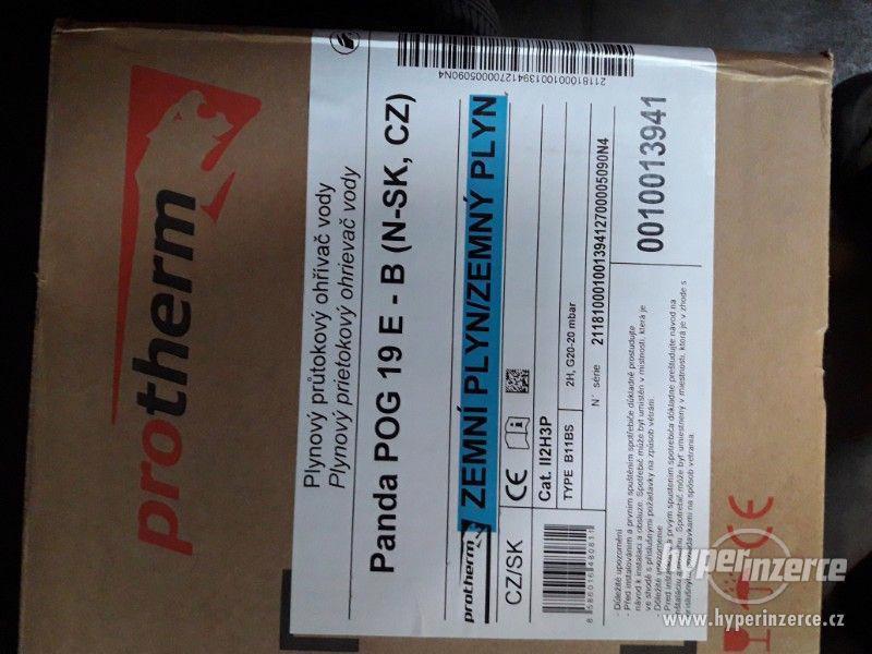 karma, plynový průtokový ohřívač vody PANDA - foto 1