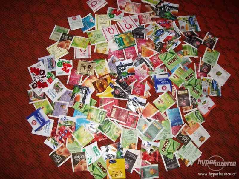 Sáčky od čajů - přebaly