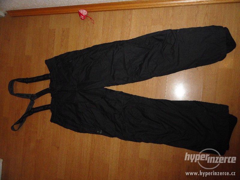 Černé pánské lyžařské kalhoty Hannah XXL - foto 1