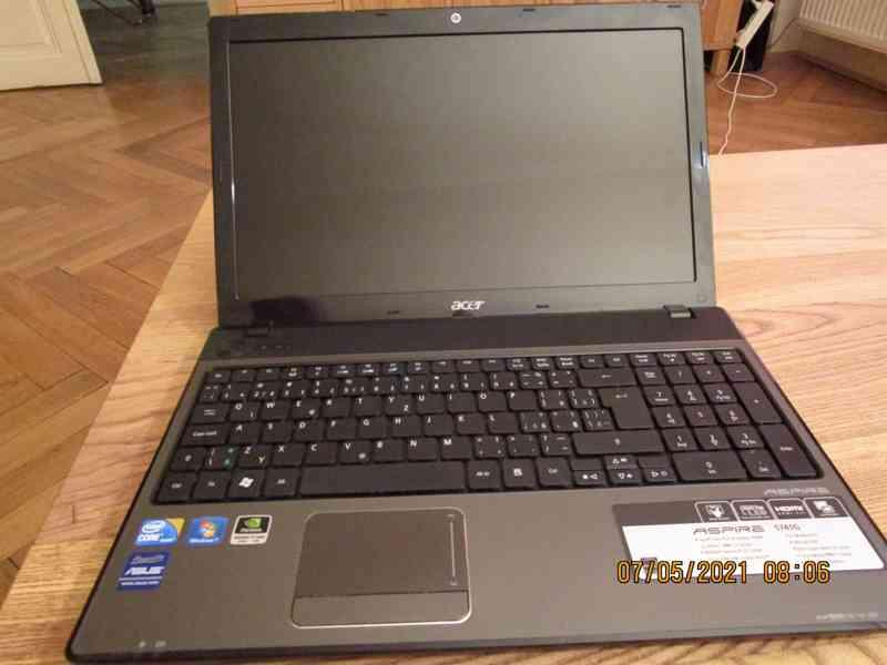 Acer Aspire 5741G, stylový notebook s procesorem Intel Core