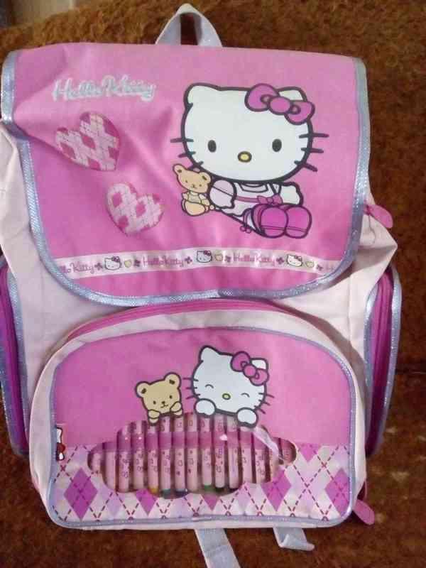 Nová školní aktovka/batoh Hello Kitty