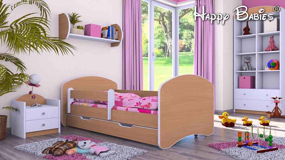 Dětská postel 200x90 cm + ul. prostor a matrace