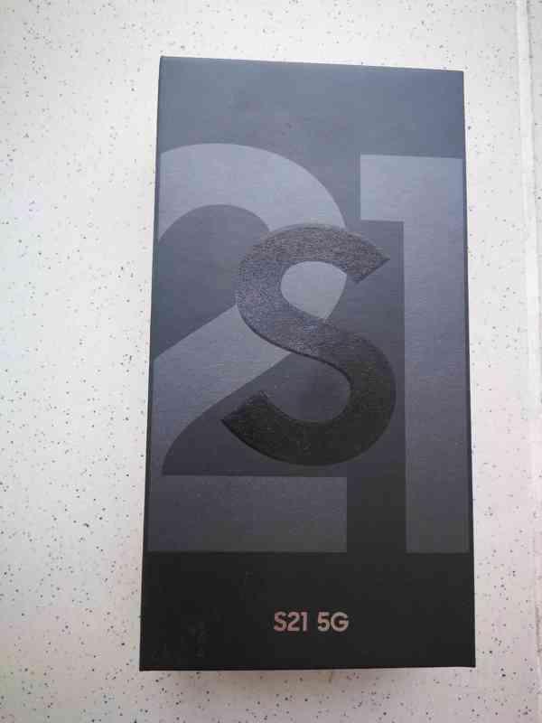 NEROZBALENÝ - Samsung S21 5G 128gb, 8gb (G991B) - foto 2
