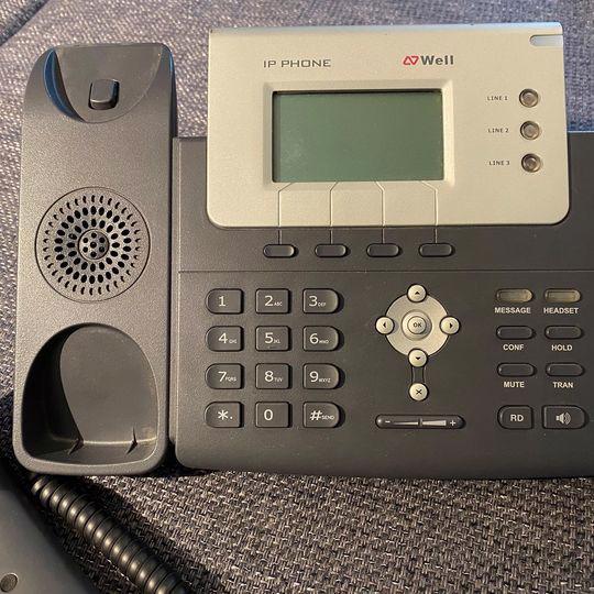 IP telefon WELL SIP-T26P - foto 2