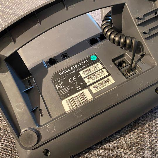 IP telefon WELL SIP-T26P - foto 5
