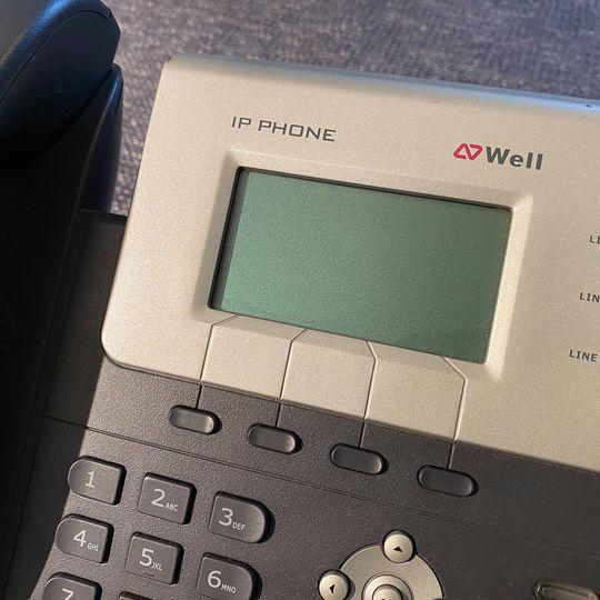 IP telefon WELL SIP-T26P - foto 9