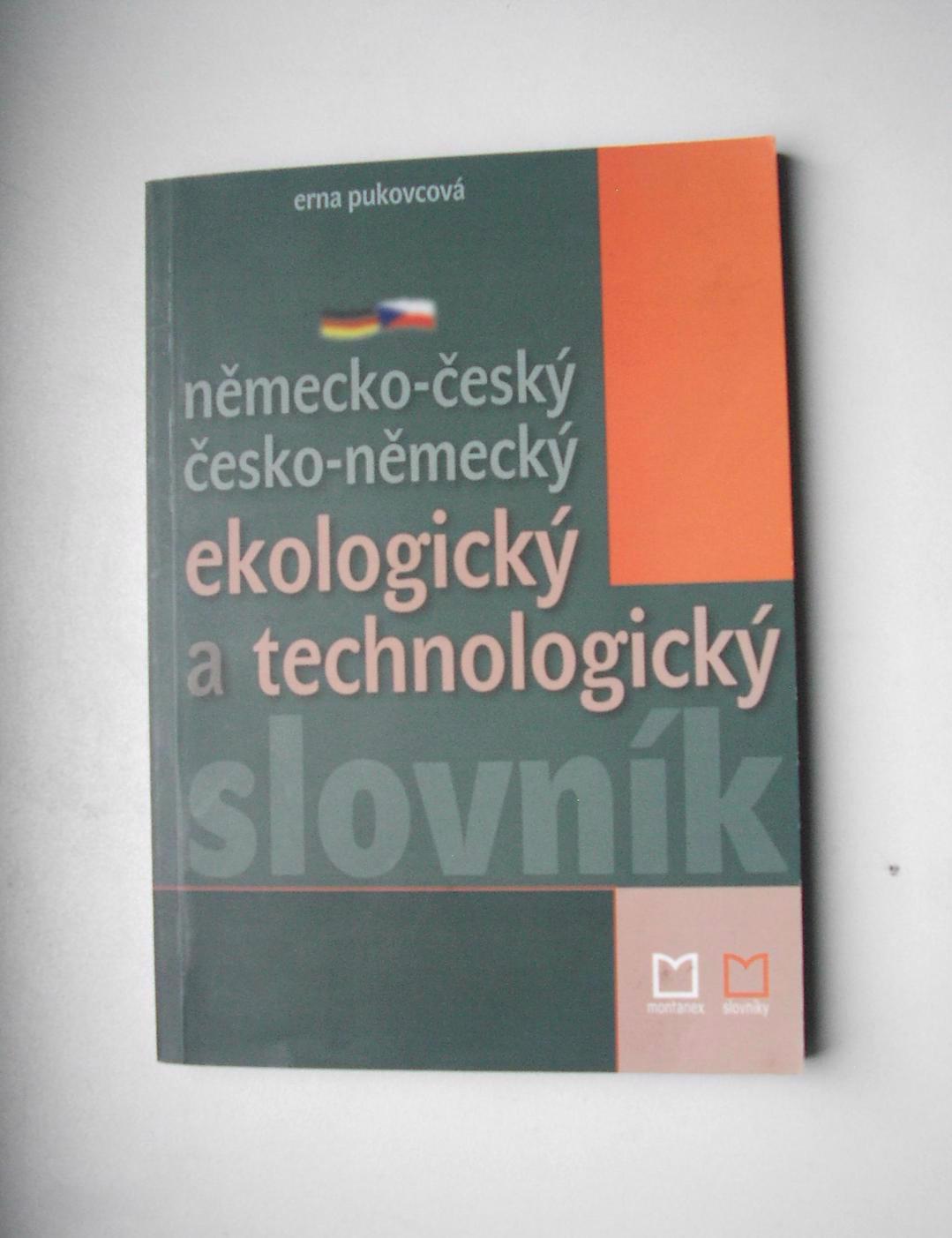 Německo-český / česko-něm. ekologický technologický slovník - foto 1