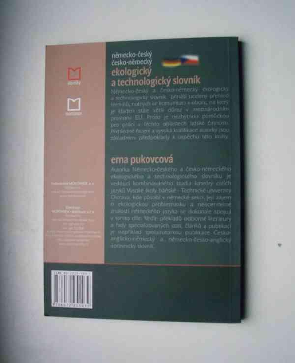 Německo-český / česko-něm. ekologický technologický slovník - foto 3