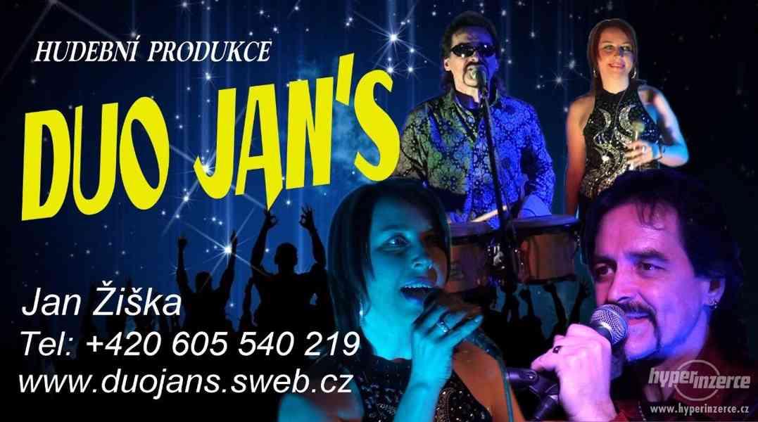 Živá hudba k tanci-Duo Jans